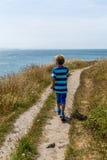 Εξέταση τη θάλασσα Στοκ εικόνες με δικαίωμα ελεύθερης χρήσης