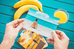 Εξέταση τις φωτογραφίες Στοκ φωτογραφίες με δικαίωμα ελεύθερης χρήσης