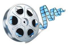 Εξέλικτρο ταινιών. τρισδιάστατη εικόνα απεικόνιση αποθεμάτων
