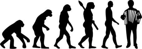 Εξέλιξη ακκορντέον απεικόνιση αποθεμάτων