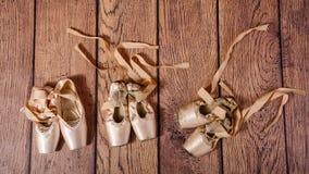 Εξέλιξη του μπαλέτου pointe Στοκ Φωτογραφίες