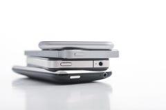 Εξέλιξη του iPhone της Apple Στοκ φωτογραφία με δικαίωμα ελεύθερης χρήσης