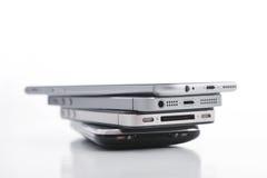 Εξέλιξη του iPhone της Apple Στοκ Φωτογραφίες