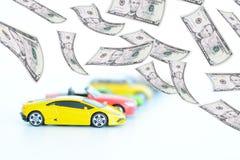 Εξέλιξη των τιμών στη αυτοκινητοβιομηχανία Στοκ φωτογραφίες με δικαίωμα ελεύθερης χρήσης