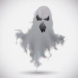 Εξαγριωμένο φάντασμα που επιπλέει, διανυσματική απεικόνιση Στοκ εικόνες με δικαίωμα ελεύθερης χρήσης