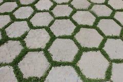 Εξαγωνικά κεραμίδια στοκ φωτογραφία με δικαίωμα ελεύθερης χρήσης