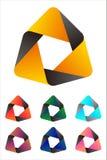 Εξαγωνικό στοιχείο λογότυπων σχεδίου. Στοκ φωτογραφία με δικαίωμα ελεύθερης χρήσης