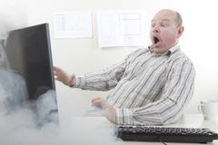 Εξαιρετικά γρήγορη υπολογιστής ή σύνδεση στο Διαδίκτυο Στοκ φωτογραφίες με δικαίωμα ελεύθερης χρήσης