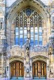 Εξαιρετική αναμνηστική βιβλιοθήκη Νιού Χάβεν Κοννέκτικατ πανεπιστημίου Γέιλ στοκ εικόνα με δικαίωμα ελεύθερης χρήσης