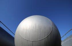 δεξαμενή για την αποθήκευση του φυσικού αερίου στην παραγωγή καυσίμων refin Στοκ Φωτογραφίες