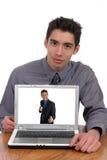εξαπάτηση Διαδικτύου στοκ φωτογραφία