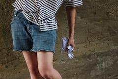 Εξαπατήστε το φύλλο Φύλλο παχνιών τσαλακωμένο έγγραφο στοκ φωτογραφία με δικαίωμα ελεύθερης χρήσης