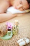 Εξαρτήματα για aromatherapy Στοκ εικόνες με δικαίωμα ελεύθερης χρήσης