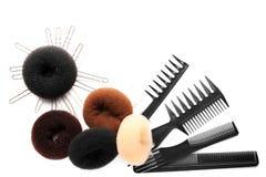 Εξαρτήματα για Hairstyle Στοκ Εικόνες