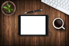 Εξαρτήματα γραφείων στον πίνακα στοκ εικόνες με δικαίωμα ελεύθερης χρήσης