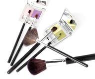 Εξαρτήματα ομορφιάς makeup Στοκ εικόνα με δικαίωμα ελεύθερης χρήσης