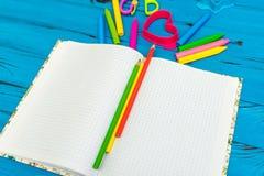 Εξαρτήματα σχολείου και γραφείων Στοκ εικόνες με δικαίωμα ελεύθερης χρήσης