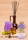 Εξαρτήματα Aromatherapy Στοκ Φωτογραφίες