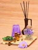 Εξαρτήματα Aromatherapy Στοκ εικόνα με δικαίωμα ελεύθερης χρήσης