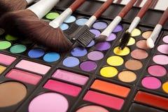 Εξαρτήματα Makeup στοκ φωτογραφία με δικαίωμα ελεύθερης χρήσης