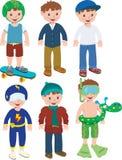 εξαρτήσεις αγοριών Στοκ εικόνες με δικαίωμα ελεύθερης χρήσης