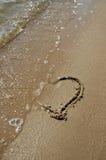εξασθενίζοντας αγάπη Στοκ Εικόνες