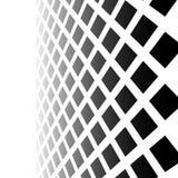 Εξασθενίζοντας μωσαϊκό των τετραγώνων Εξαφανιμένος σχέδιο στην προοπτική Στοκ φωτογραφίες με δικαίωμα ελεύθερης χρήσης
