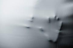 Εξασθενίστε τη δομή και τη σκιά του χεριού και του στόματος Στοκ Εικόνες