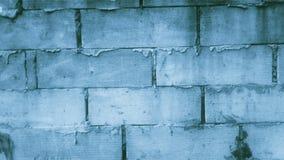 Εξασθενίστε τον μπλε τοίχο στοκ εικόνα