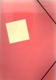 εξασθενισμένος παλαιός κόκκινος stic γραμματοθηκών Στοκ εικόνα με δικαίωμα ελεύθερης χρήσης