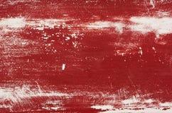 Εξασθενισμένο κόκκινο χρωματισμένο δάσος Στοκ Εικόνα
