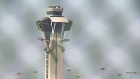 Εξασφαλισμένος πύργος ελέγχου αερολιμένων φιλμ μικρού μήκους