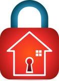 Εξασφαλισμένο σπίτι ελεύθερη απεικόνιση δικαιώματος