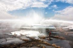 Εξαφανίζοντας αεροπλάνα Στοκ φωτογραφία με δικαίωμα ελεύθερης χρήσης