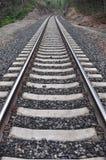 Εξαφανιμένος διαδρομές σιδηροδρόμου Στοκ εικόνες με δικαίωμα ελεύθερης χρήσης