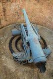Εξαφανιμένος πυροβόλο όπλο μεταφορών Phi στο οχυρό Sua Samut, το δημόσιο plac Στοκ Φωτογραφίες