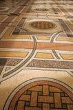 Εξεζητημένο μωσαϊκό διακοσμήσεων στο πάτωμα στην αίθουσα εισόδων στο Petit Palais στο Παρίσι Στοκ φωτογραφία με δικαίωμα ελεύθερης χρήσης