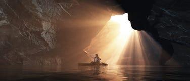 Εξερεύνηση της σπηλιάς απεικόνιση αποθεμάτων