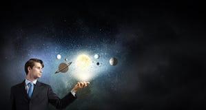 Εξερεύνηση του διαστήματος Στοκ Φωτογραφία