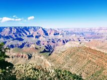 Εξερεύνηση του μεγάλου φαραγγιού Αριζόνα ΗΠΑ στοκ εικόνες