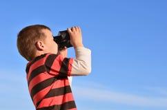 Εξερεύνηση του ουρανού Στοκ εικόνες με δικαίωμα ελεύθερης χρήσης
