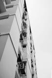 Εξετάστε επάνω την κατοικία διαμερισμάτων στην Ταϊλάνδη Βήμα της οικοδόμησης Στοκ Φωτογραφία