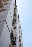 Εξετάστε επάνω την κατοικία διαμερισμάτων στην Ταϊλάνδη Βήμα της οικοδόμησης Στοκ φωτογραφίες με δικαίωμα ελεύθερης χρήσης