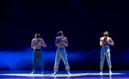 εξετάστε καρδιά-ισχυρό κάποιου ο άτομο-εθνικός λαϊκός χορός Στοκ Εικόνα