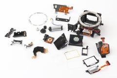 Εξετασμένος λεπτομερώς την ηλεκτρονική ψηφιακή κάμερα παραθυρόφυλλων στοκ εικόνα με δικαίωμα ελεύθερης χρήσης