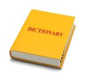 λεξικό Στοκ εικόνα με δικαίωμα ελεύθερης χρήσης