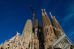Εξιλεωτική εκκλησία του ιερού Λα Sagrada Familia οικογενειακού Templo Expiatorio de στοκ εικόνα με δικαίωμα ελεύθερης χρήσης