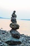 Εξισορρόπηση βράχου Στοκ εικόνα με δικαίωμα ελεύθερης χρήσης