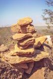 Εξισορρόπηση βράχου Στοκ Φωτογραφία