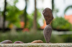 Εξισορρόπηση βράχου Στοκ Εικόνες